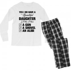 yes i do have a beautiful Men's Long Sleeve Pajama Set | Artistshot