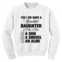yes i do have a beautiful Youth Sweatshirt | Artistshot