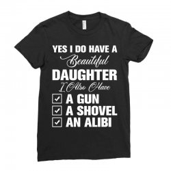 yes i do have a beautiful for dark Ladies Fitted T-Shirt | Artistshot