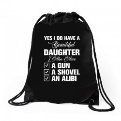 yes i do have a beautiful for dark Drawstring Bags | Artistshot