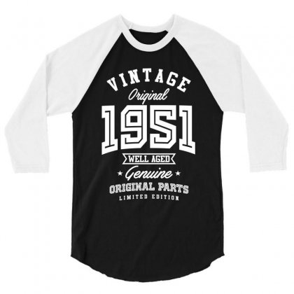 Gift For Born In 1951 3/4 Sleeve Shirt Designed By Cidolopez