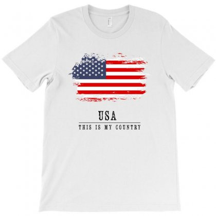 United States Of America T-shirt Designed By Chris Ceconello