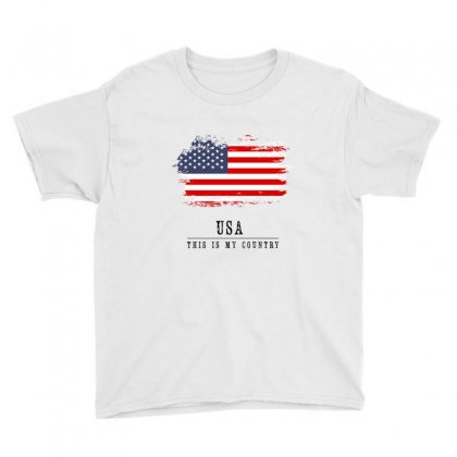 United States Of America Youth Tee Designed By Chris Ceconello