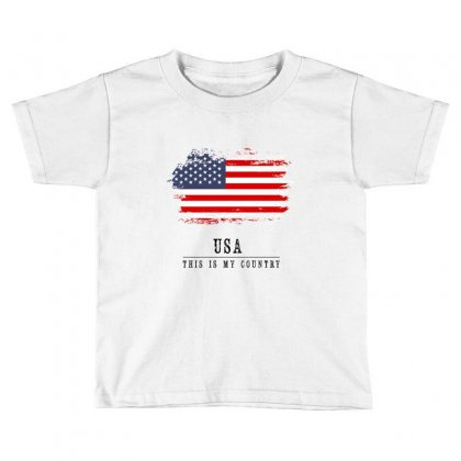 United States Of America Toddler T-shirt Designed By Chris Ceconello