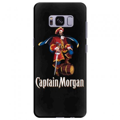 Captain Morgan Samsung Galaxy S8 Plus Case Designed By Kizaide