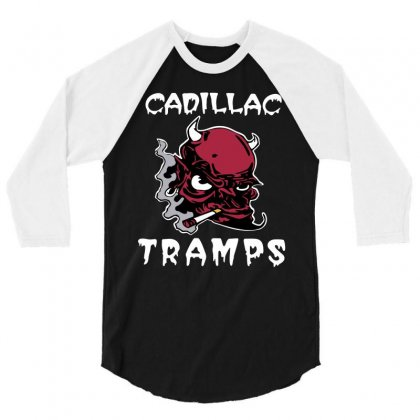 Cadillac Tramps 3/4 Sleeve Shirt Designed By Kizaide