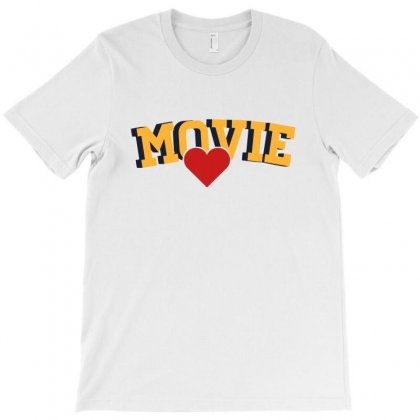 Movie Lover T-shirt Designed By Sengul