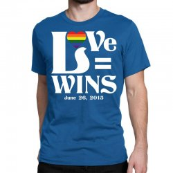 Love Wins Classic T-shirt | Artistshot
