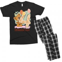 4st Birthday Boy Men's T-shirt Pajama Set | Artistshot