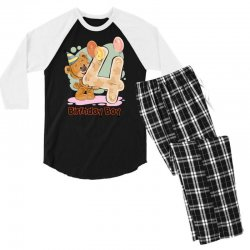 4st Birthday Boy Men's 3/4 Sleeve Pajama Set | Artistshot