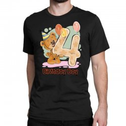 4st Birthday Boy Classic T-shirt | Artistshot