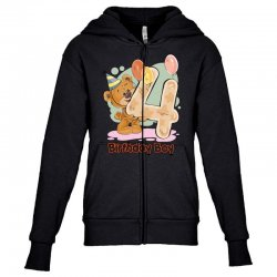4st Birthday Boy Youth Zipper Hoodie | Artistshot