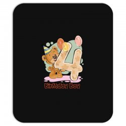 4st Birthday Boy Mousepad | Artistshot