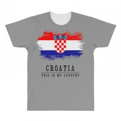 Croatia All Over Men's T-shirt | Artistshot