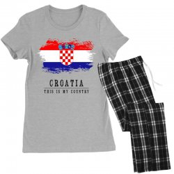 Croatia Women's Pajamas Set | Artistshot