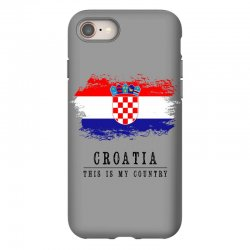 Croatia iPhone 8 Case | Artistshot