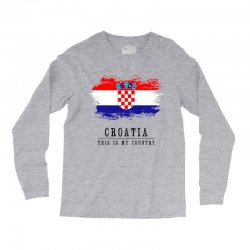 Croatia Long Sleeve Shirts | Artistshot