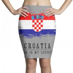 Croatia Pencil Skirts | Artistshot