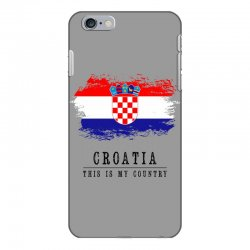 Croatia iPhone 6 Plus/6s Plus Case | Artistshot
