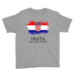 Croatia Youth Tee | Artistshot