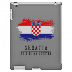 Croatia iPad 3 and 4 Case | Artistshot
