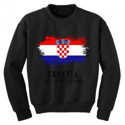 Croatia Youth Sweatshirt | Artistshot