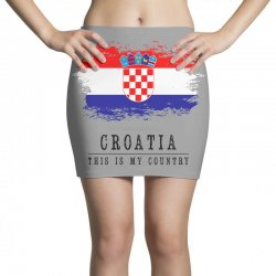 Croatia Mini Skirts | Artistshot