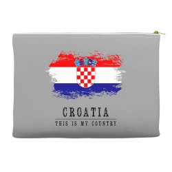 Croatia Accessory Pouches | Artistshot