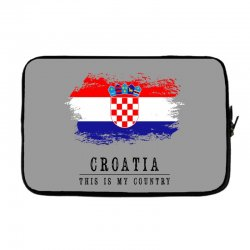 Croatia Laptop sleeve | Artistshot