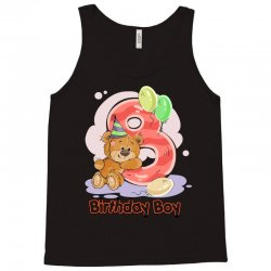 8ST BIRTHDAY BOY Tank Top | Artistshot