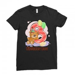8ST BIRTHDAY BOY Ladies Fitted T-Shirt | Artistshot