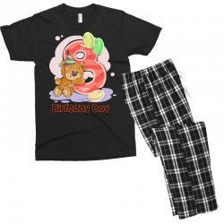 8ST BIRTHDAY BOY Men's T-shirt Pajama Set | Artistshot