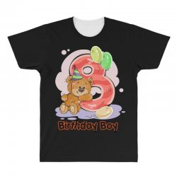 8ST BIRTHDAY BOY All Over Men's T-shirt | Artistshot