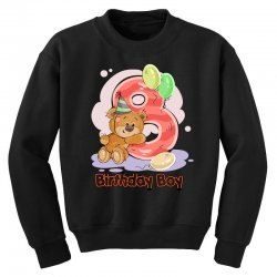 8ST BIRTHDAY BOY Youth Sweatshirt | Artistshot