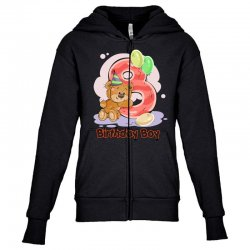 8ST BIRTHDAY BOY Youth Zipper Hoodie | Artistshot