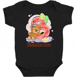 8ST BIRTHDAY BOY Baby Bodysuit | Artistshot