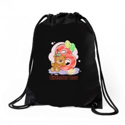 8ST BIRTHDAY BOY Drawstring Bags | Artistshot