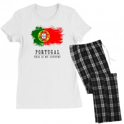Portugal Women's Pajamas Set | Artistshot