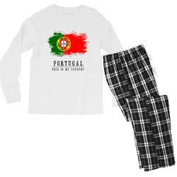 Portugal Men's Long Sleeve Pajama Set | Artistshot