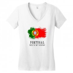 Portugal Women's V-Neck T-Shirt | Artistshot