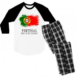 Portugal Men's 3/4 Sleeve Pajama Set | Artistshot