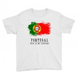 Portugal Youth Tee | Artistshot