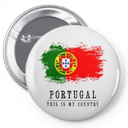 Portugal Pin-back button | Artistshot