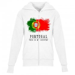 Portugal Youth Zipper Hoodie | Artistshot