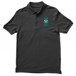 i wear teal and whitefor cervical cancer awareness for dark Polo Shirt | Artistshot