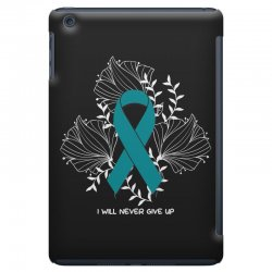 i will never give up for dark iPad Mini Case | Artistshot