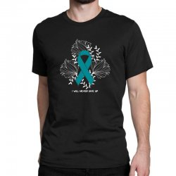 i will never give up for dark Classic T-shirt | Artistshot