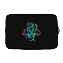 i will never give up for dark Laptop sleeve | Artistshot