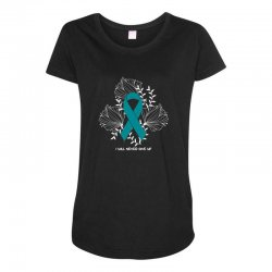 i will never give up for dark Maternity Scoop Neck T-shirt | Artistshot