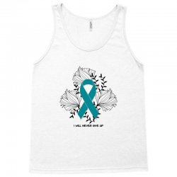 i will never give up for light Tank Top | Artistshot